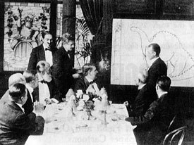 Blacktons second animated film The Haunted Hotel (1907) was a huge hit in Europe and in turn inspired other top cartoonists like Winsor McCay (above) who began playing with the new idea.