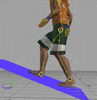 Improvements to floor collisions are simple yet effective. Now, when a user characterizes a character, the floor collision node is created at an appropriate size relative to that character.