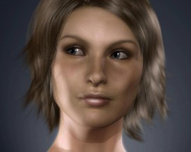 Face Robot was the hottest software advance buzzed about at GDC. Especially its $95k price tag! © Softimage.