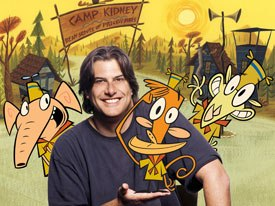 The big winner in the Pulcinella Awards was frosh series, Camp Lazlo, created by Joe Murray. The show was honored with best TV series, best series for children and best character for Lazlo. © &  2005 Cartoon Network