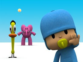 The Spanish series, Pocoyo, won for best European program and best TV series for pre-school. It was produced by Zinkia Ent. and Granada International, in association with Granada Kids and Cosgrove Hall.