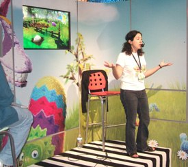 Just showing the integration of gaming and other media industries, 4Kids Ent. and Microsoft Game Studio have teamed on the game/TV property Viva Piñata.