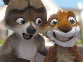 DreamWorks' Over the Hedge is unlike the competition: it manages to translate a property from another medium without destroying its spirit or alienating its creators. All images courtesy DreamWorks Animation SKG.