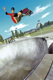 The major challenge on Tony Hawk in Boom Boom Sabotage was finding a way to translate the extreme motions of top-notch skaters into dynamic CG animation.