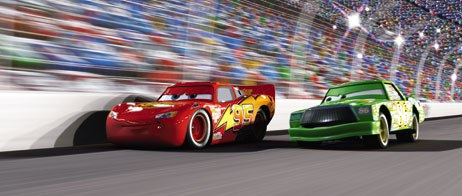 Pixars artists were compelled to use their imaginations to make the cars movements and gestures fit with the design. Tire movement and steering were used for dramatic effect.