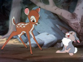 Bambi was cited a couple of times by the alumni as a seminal film and an inspiration to them. © Disney. All rights reserved.