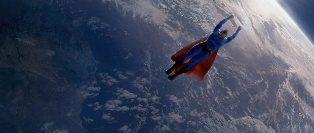 An unexpected phase two of R&D during principal photography was put into action when Brandon Routh appeared in much better shape while preparing for the movie. Subtle alterations to the final costume were then made.