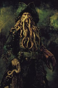 Early concept art for Davy Jones.