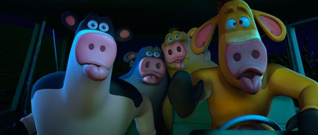 Barnyard is the first production from Oedekerks Omation studio. Building their animation crew from scratch, talent had to be pulled from all over the world. Roughly a third trained on the job.