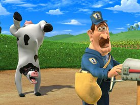 Like Oedekerks previous hit Jimmy Neutron, Barnyard will have a life on the small screen. Nickelodeon plans a spin-off series to premiere next year. Thirteen episodes are set to air.