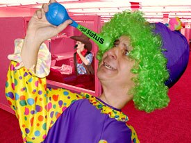 Your cubicle clown can look deeply into the horn of legal status options.