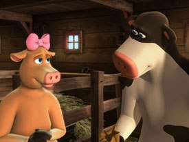 Barnyard is the latest in a string of successes for Oedekerk. All Barnyard images © 2006 by Paramount Pictures and Viacom Intl Inc. All rights reserved.