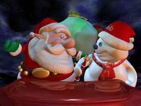 The dailies for Santa vs. the Snowman excited Oedekerk so much that he forgot about the Oscar nomination he received for Jimmy Neutron. © 2002 O Entertainment. All rights reserved. IMAX® is a registered trademark of IMAX Corp.