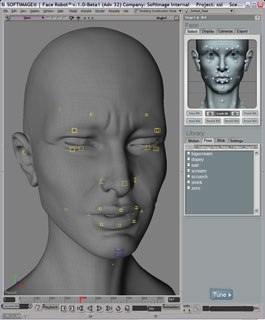 Softimage announced an update to its Face Robot software, but is the price tag still a stumbling block? © Softimage.