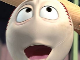 The filmmakers found Rob Reiner very collaborative when creating the voice of Screwie. He added to the character.