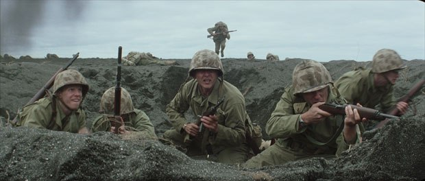 the psychological effects of war on soldiers in flags of our fathers a movie by clint eastwood Imagining war focus features  by wowing its audience with spectacular effects, war — and war films — foster  and clint eastwood's flags of our fathers.