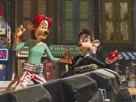 Peter Lord recalls the pitch for Flushed Away was simple: The African Queen with the gender roles reversed. All images © 2006 DreamWorks Animation Llc. and Aardman Animations Ltd. Flushed Away TM DreamWorks Animation Llc.