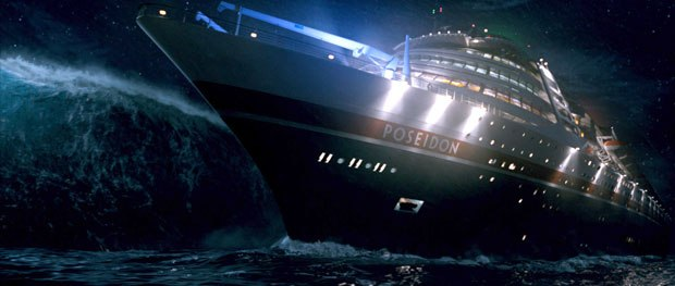 In his seminar on Poseidon, Shermis explained that the intro shot, the ship, the water and the chance to