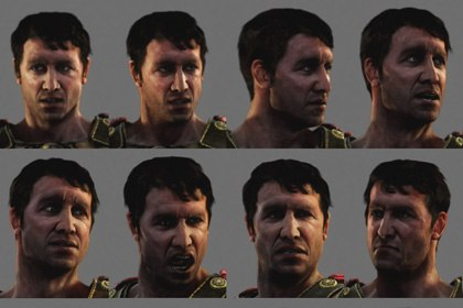As the motion capture processes become more refined, companies like Studio Pendulum can provide a larger range of facial expression for film and games. © Studio Pendulum.
