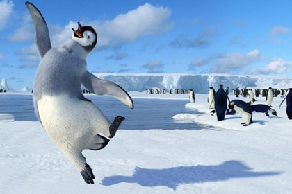 As Animal Logic did on Happy Feet, many vfx companies are going to in-house solutions for motion capture needs. © 2006 Warner Bros. Ent. Inc. All rights reserved.