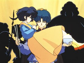 Ranma 1/2 is the story of two young, independent and fairly modern thinking people betrothed to one another, and how they deal with the union and the melding of their families.