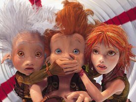 The year 2006 was a banner one for feature animation in France. Arthur and the Invisibles joined the ranks of Azur and Asmar and the groundbreaking Renaissance. All images courtesy of The Weinstein Co./Europa Corp.
