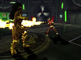 Because of the huge amount of characters in MK:A, cool-looking endings are no longer there. Instead characters perform an animated Kata while a narrator explains what happens in the storyline.