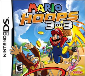 Mario Hoops 3-on-3 eschews the conventional point scoring system and instead players must play strategically and collect as many coins as possible before going for a shot. All Mario Hoops 3-on-3 images © Nintendo.