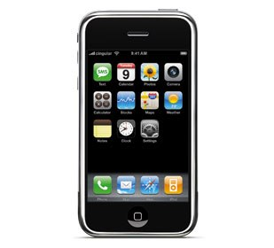 The new Apple iPhone, with a resolution (150dpi) that is equal to or better than any of the offshore models. It's also one of the few U.S. cellphones that is able to receive WiFi, making it possible to get video downloads. Courtesy of Apple.