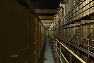 A scene from Alcatraz.