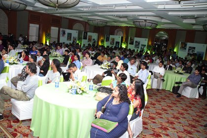 NVIDIA's Bollywood Initiative events, co-hosted by ASIFA (above) and TASI, have drawn big crowds and have helped build a lot of momentum in India. Photos courtesy of NVIDIA.