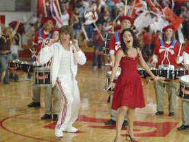 High School Musical became the most-watched movie ever on Disney Channel among kids 4-17 (average audience) in all Latin American territories measured by IBOPE. © Disney.