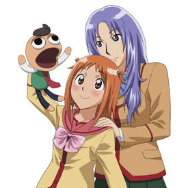 Character designs are solid and very cute in Best Student Council, but often girls look the same, but only with different color hair. It's easy to confuse the characters.