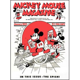 It's a no-brainer when the choice is between cigarettes and the first issue of the Mickey Mouse Magazine.
