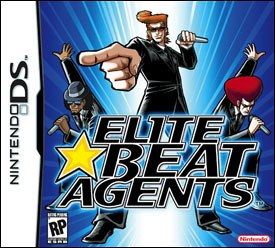 Elite Beat Agents joins other popular rhythm games such as Dance, Dance Revolution and Guitar Hero. All Elite Beat Agents images ©iNiS.
