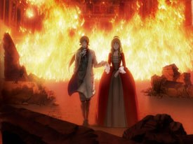 The story for Le Chevalier D'Eon is atypical of the kind usually found in an anime. It could have been easily one of Hollywood's next big summer blockbusters with its slick and mature writing.