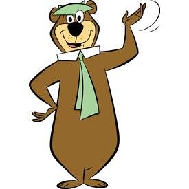Yogi Bear was another Hanna-Barbera celebrity. © Cartoon Network.