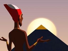 Cartoon Movie presented the world avant premiere of Philippe Leclerc's tale of ancient Egypt, The Princess of the Sun. © 2007-Belokan Prods.-Rezo Prods.-France 3 Cinema-YC Aligator Film-RTBF-Cinemon Kft.