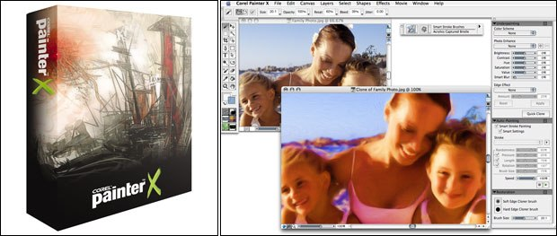 When creating images that have a traditional look the only option worth considering is Painter. The truth is no other available software applications deliver the richness of materials and interaction that Painter does.