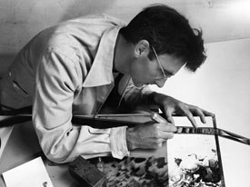 The entire National Film Board of Canada's digitally restored body of Norman McLaren's work, along with the excellent documentary, Creative Process: Norman McLaren, were screened at Anima. © National Film Board of Canada. All rights reser