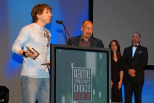 Gears of War was awarded best game at the Game Developers Choice Awards.