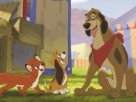 Fox and the Hound 2, which offered a major change in tone from the original's realistic and even downbeat underpinnings, wound up offending the purists.