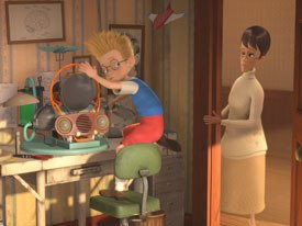 Meet The Robinsons Keep Moving Forward At Disney Animation World