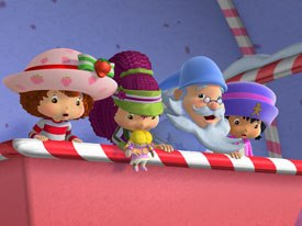 The Strawberry Shortcake line has evolved into one of the top children's video franchises. The DVDs offer fun and important lessons, as well as extras like trailers and toys. © Fox Home Ent.