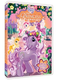 Targeted at girls aged three to six, 2D animation was chosen for the My Little Pony DVDs because of its simplicity and flexibility in telling sweet, child-like stories.