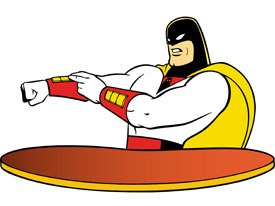 The pair has also written for Space Ghost Coast to Coast, Adult Swim's original flagship show. The show's 13th anniversary is approaching. ™& © Cartoon Network.