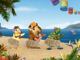 Little Airplane Soars With The Wonder Pets Animation World