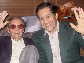 Iraj Paran with Joe Barbera.