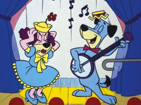 Huckleberry Hound was one of the early hits that put H-B on the map. Image courtesy of Warner Bros. Animation.