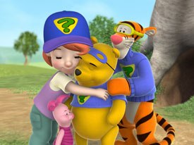 CGI comes to Winnie the Pooh with My Friends Tigger & Pooh, a new series created for Disney's pre-school block, Playhouse Disney. Unless noted, all images © Disney Enterprises. All rights reserved.